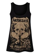 Metallica Fillmore Poster Women's Black Vest