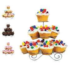 New Cupcake Party Stand Wedding Birthday Display Metal Muffin Holder 3/4/5 Tiers