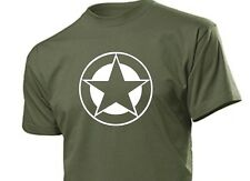 T-Shirt Allied Star US Army Airforce Marines Blu Navy Seals Vietnam USMC #2 tg.