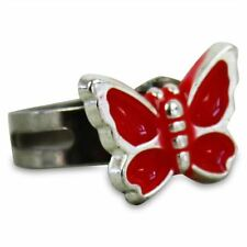 "Kinderring ""Schmetterling"" Kinder Ring Schmetterlingring Kinderschmuck"