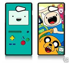 ADVENTURE TIME SONY XPERIA C3 C4 M5 T2 Z5 MINI COVER CASE CARCASA BMO FINN JAKE