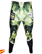 CUSTOM FIGHTER MMA PANTS ARMY PANTALONES de LICRA muay thai boxing boxeo bjj