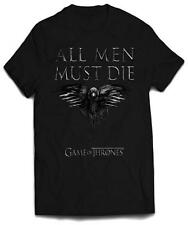 Camiseta All Men Must Die. Juego de Tronos