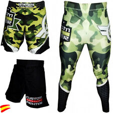 CUSTOM FIGHTER PANTALONES de MMA SHORTS Muay Thai BOXEO KICK BOXING BOXEO BJJ