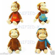 "CURIOUS GEORGE Monkey plush toy collections 12"" (30cm)"