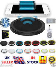 ☆New☆ Genuine Iphone Wireless Charger QI Charging Pad + Reciever 5 5s 6 6S+ iPad