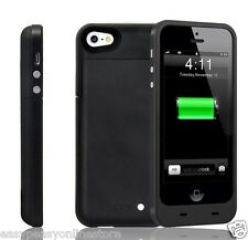 New Iphone 5 5s 5 SE 2500 mAh power charger charging case external battery cover