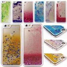 Glitter Bling Stars Dynamic Liquid Colourful Case Cover For  iPhone & Samsung