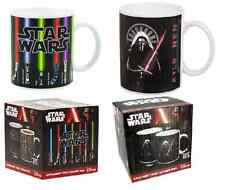 Star Wars Lightsaber /Kylo Ren Heat Change Changing Mug -The Force Awakens- New!