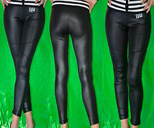 LEGGINGS - DONNA - PANTALONI - SIMILPELLE S/TASCHE ELEGANTI - LATEX