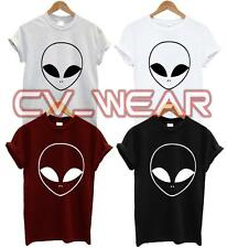 ALIEN T SHIRT TEE TSHIRT UFO HIPSTER HATE SWAG BLOGGER TUMBLR FASHION UNISEX