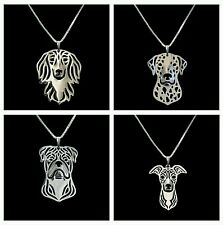 Dog Necklace 24 Breeds Womens Gift *SALE*