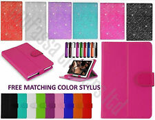 "Universal Folio Leather Flip Case Cover For Android Tablet PC 7"" 9.7"" 10"" 10.1"""