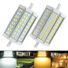 Dimmable R7S 20W 118mm 48 SMD 5730 5630 LED Lampada Lampadina Luce AC 85-265V