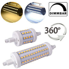 Dimmable R7S LED 5W 10W 78mm 118mm 2835 SMD Lampadina Lampada Luce AC 85-265V