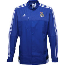 611658865 adidas Real Madrid Licensed Product Football Mens Track Jacket Zip Pockets  BNWT