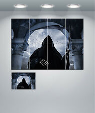 Grim Reaper Death Scary Halloween Giant Wall Art Poster Print
