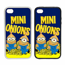 Mini Onions - Rubber And Plastic Phone Cover Case - Minions Inspired