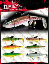 Artificiale spinning Molix Pike Shad 5.5'' soft swimbait 14 cm 60 g – 2 oz