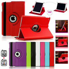 New PU Leather 360°Rotating Smart Stand Case Cover For APPLE iPad Mini 1,2,3,4