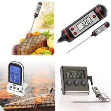 Digital Fleischthermometer Backofenthermometer Backofen Grill Thermometer BBQ