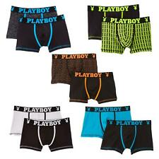 Playboy Mens 2 Pack Boxer Shorts Small Medium Large Gifts for him
