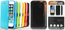 New 4200 mah Power Bank Juice Cases for Iphone 5 5c and 5s + media kick stand