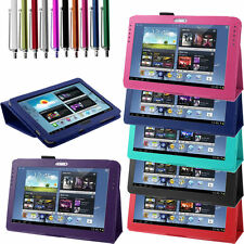 """High Quality PU Leather Samsung Galaxy Tab2 10.1"""" P5100 P5110 Smart Stand Cover"""