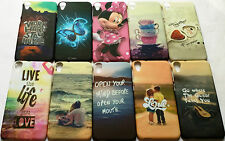 IMPORTED TOUCH FEEL NIGHT GLOW HARD BACK CASE COVER FOR HTC Desire D820