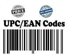 Barcodes EAN & UPC Code Numbers for 10-10000 Lifetime Lowest Price