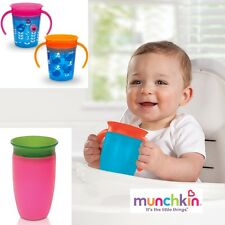 Munchkin Miracle 360° Sippy Cup-No Spill Training Cup-Dentist Recommended-No BPA