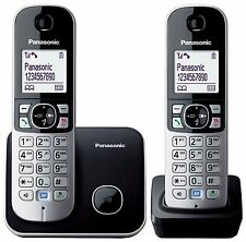 Panasonic TG6812 DECT Cordless Telephone - Twin