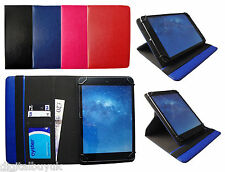 Universal Premium 360 Rotating Wallet Case Cover for Various 10 inch Tablet