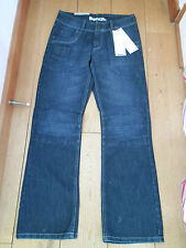 BENCH BIG POCKET WASHED MID BLUE BOYFRIEND JEANS KNEES AND STITCHES 28 30 BNWT