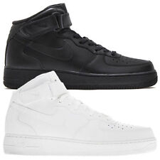 NIKE AIR FORCE 1 MID 07 Scarpe Uomo High Sneaker pelle nuovo one dunk