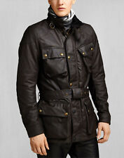 Belstaff Official Classic Tourist Trophy Motorcycle Motorbike Jacket Brown