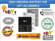 100% ORIGINAL BATTERY FOR LG ALL MODELS
