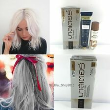 DCASH Bleaching white cream kit,Permanent Hair Color Cream Grey Color #HA910