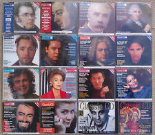 "CLASSIC CD MAGAZINE ""THE MAGAZINE YOU CAN LISTEN TO"" ISSUES 19 - 32 + OTHERS."