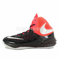 Nike Prime Hype DF II [806941-006] Basketball Black/Silver-Red