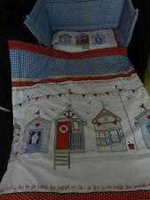 NEW LARGE BEACH HUTS - JUNIOR BED - SPACESAVER COT - COT or COTBED SET