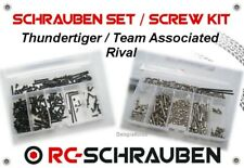 Set di viti Hotel THUNDERTIGER/TEAM ASSOCIATED Rival - Acciaio Inox & Acciaio