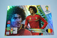 ADRENALYN PANINI BRASILE 2014 LIMITED EDITION FELLAINI LUKAKU HIGUAIN PIRLO