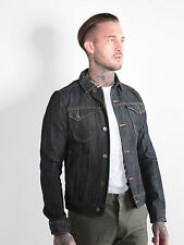 883 Police Mens Trucker 358 Denim Jacket Vintage Casual Button Long Sleeve