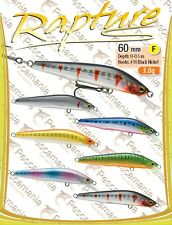 Artificiale spinning hard bait Trabucco Rapture Gombei Minnow 60mm 3.0gr