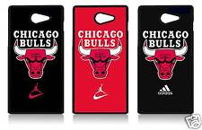 CHICAGO BULLS SONY XPERIA C3 C4 Z5 T2 M5 Z5 MINI COVER CASE CARCASA FUNDA