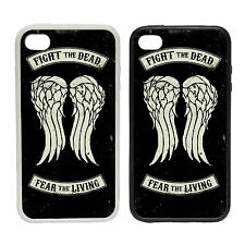 Combattere The Dead Wings Cover Telefono Gomma E Plastica Custodia Morte Dixon