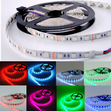 5-20M 300LEDs SMD5050 Bande Ruban Flexible Strip Lumières décor lampe DC12V RGB