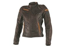Dainese Michelle Moto Lady Donna Giacca in Pelle cool Look Vintage molto morbido
