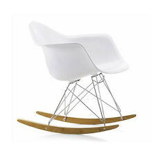 VITRA sedia a dondolo Eames Plastic Armchair RAR rocking chair by Eames